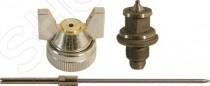 Набор запчастей к краскопульту FIT 81145 предназначен для краскопульта FIT 81009. В набор входят: распылитель, форсунка, игла с диаметром выходного отверстия 1,2 мм. Все элементы сделаны из латуни и нержавеющей стали и помогут продлить срок работы вашего краскопульта.