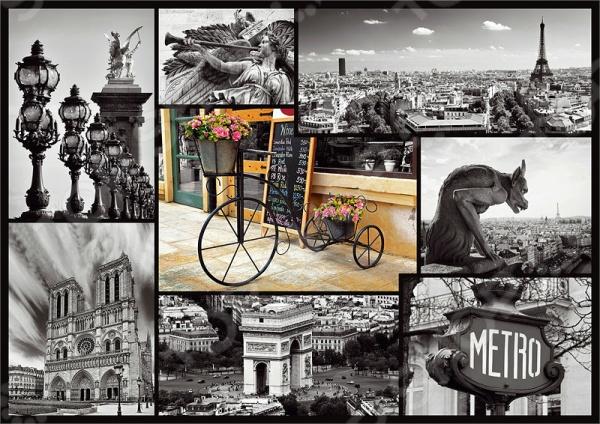 Пазл 1000 элементов Trefl «Париж-коллаж»