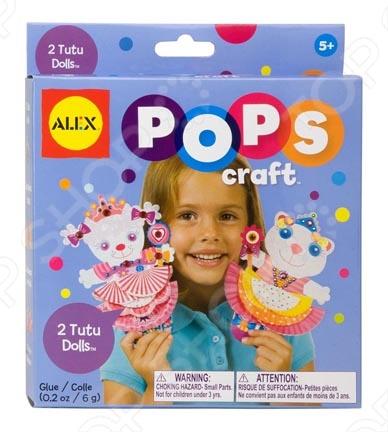 Набор для создания поделок ALEX 2 подружки в юбочках - яркий набор для творчества. С помощью данного ребёнка можно создать объёмные фигурки кукол в красивых балетных пачках. Если следовать пошаговой инструкции, то изготовить поделки очень легко и с этой задачей ребёнок может справиться самостоятельно. Подобные занятия развивают творческое мышление, воображение и мелкую моторику рук.