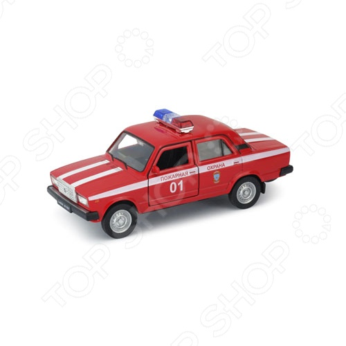 Модель автомобиля 1:34-39 Welly LADA 2107. Пожарная охрана куплю литые диски в крыму на ваз 2107