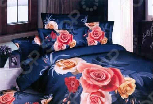 Покрывало на кровать может рассказать о своем владельце! Эта деталь интерьера в полной мере способна раскрыть Ваш характер, Ваше понимание красоты, Ваше отношение к жизни и даже настроение. Выбором покрывала для спальни ни в коем случае нельзя пренебрегать, так как постороннему, увидевшему покрывало на кровати, оно многое может рассказать о своем хозяине, пусть и на уровне подсознания. Еще одна немаловажная функция покрывала Матекс Комлект Роза помимо выражения Вашей индивидуальности это создание завершенного дизайна комнаты. Ничто не способно так быстро и так кардинально изменить внешний вид помещения, как покрывало, постеленное на кровать или мягкую мебель. Покрывало может вступить в гармоничный ансамбль с тюлем или картиной, а может создать контраст, акцент в комнате, придать ей живость и яркость. Помимо всего, покрывало на кровати выполняет и защитную функцию оно предохраняет постельное белье от износа и загрязнения, сохраняет его свежесть и позволяет Вам каждую ночь ложиться в чистую постель. Несмотря на то, что покрывала напрямую не связаны с каждодневным ритуалом сна, мы уверены, что красивое расшитое покрывало, застилающее Вашу кровать, поможет сформировать у Вас ощущение расслабленности и отдыха, а значит, сон станет вдвойне полезным и приятным! Рисунок бордового покрывала выполнен из крупных роз расположенных по центру 2 красные и чайная разного размера с с нежно зелеными листьями в обрамлении цветов шиповника и мелких садовых цветочках бледно розового цвета. Темно-красная кайма. Рисунок синего покрывала представляет из себя композицию из роз разного размера и расцветки две розовые, чайная, и почти белая с золотистой серединкой с дополнен в виде цветков шиповника и нераспустившимися бутонами. Все это расположено на фоне темно-синего с краев цвета светлеющего ближе к центру.. Цветы окружены листьями синего цвета разной тональности. Подкладка покрывала белого цвета с рисунком в японском стиле с изображением темно-красных иероглифов и драконов желтого цвета.