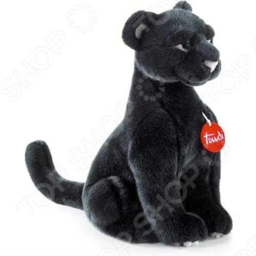 Мягкая игрушка Trudi Пантера Ирис сидячая
