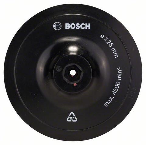 Круг тарельчатый на липучке Bosch 1609200154 связь на промышленных предприятиях