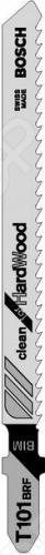 Набор пилок для лобзика Bosch T 101 BRF BIM  набор пилок по дереву bosch t101bf bim 2шт 2609256728
