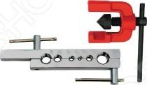 Развальцовка FIT 70680Труборезы. Трубогибы<br>Развальцовка FIT 70680 это отличная развальцовка на 6-15 мм. Подходит для тонкостенных стальных труб и труб из цветных металлов. В работе на стройплощадке, либо для любительских работ эта развальцовка отличное решение проблем. Материал: инструментальная сталь.<br>