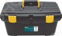 Ящик для инструментов с подвижным лотком и усиленной рукояткой Ящик для инструментов FIT с подвижным лотком и усиленной рукояткой