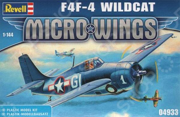 Сборная модель истребителя Revell F4F Wildcat