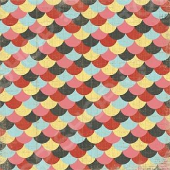 фото Бумага для скрапбукинга двусторонняя Morn Sun Petticoat, купить, цена