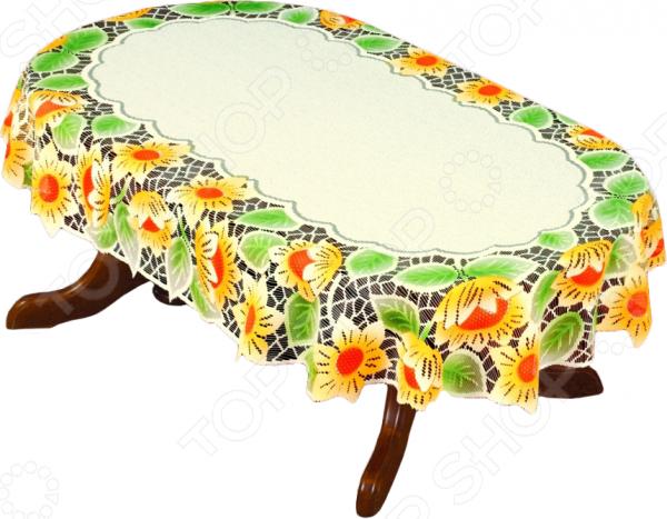 Скатерть Haft 54941-110Скатерти. Салфетки<br>Скатерть Haft 54941-110 это основной элемент классического оформления обеденного стола. Скатерть прекрасно дополнит комплект столового белья, создав атмосферу изысканности на вашей кухне или в столовой, подчеркнув при этом радушие хозяев. Скатерть изготовлена из полиэстера, который практически не мнется, легко отстирывается от загрязнений, не притягивает пыль и не требует глажки. Благодаря этому ткань способна выдержать сотни стирок без потери цвета и прочности. Обычные материалы со временем выгорают, на них собирается пыль, появляются неприятные запахи. С полиэстером этого не происходит скатерть почти не пачкается и не впитывает запахи, при этом вы очень легко ее постираете и высушите. Благодаря качественным материалам и стильному виду, скатерть потрясающе приятная на ощупь и гармонично сочетается с посудой и аксессуарами любой фактуры и цвета.<br>
