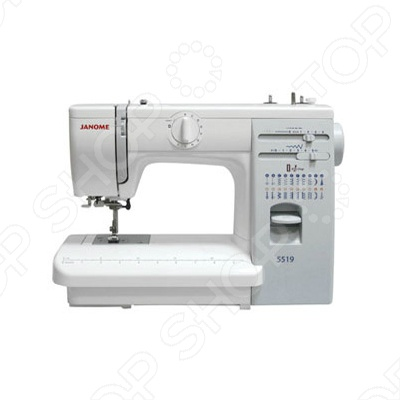 Швейная машина Janome 5519 электромеханическая швейная машина vlk napoli 2100