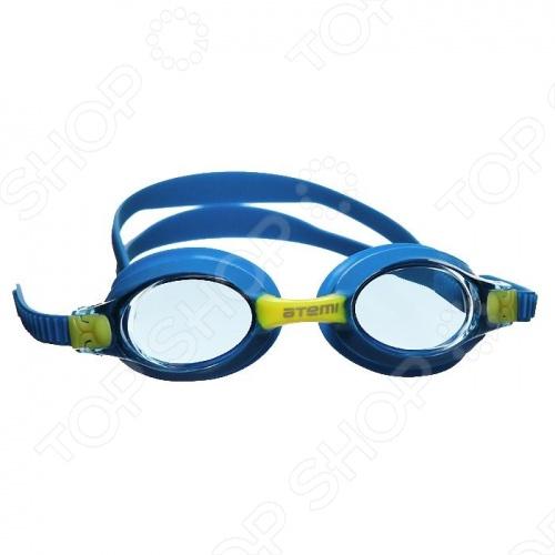 Очки для плавания ATEMI M 302Очки для плавания взрослые<br>Очки для плавания ATEMI M 302 имеют линзы из поликарбоната, с покрытием Antifog и защитой от Ультрафиолета UVA UVB . Есть двойные силиконовые ремешки с возможностью быстрой регулировки по размеру. Уплотнитель из силикона. Очки выполнены как единое целое литой корпус обеспечивает максимальный комфорт. Подходят для людей с чувствительной кожей около глаз.<br>
