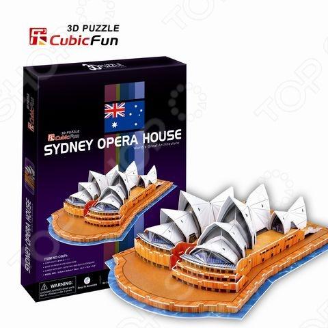 Пазл 3D CubicFun «Сиднейский Оперный Театр»