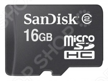 фото Карта памяти SanDisk SDSDQM-016G-B35, Карты памяти. Кардридеры
