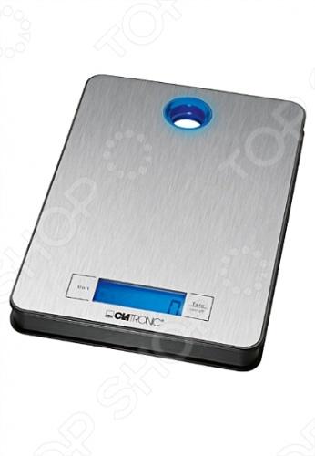 Весы кухонные Clatronic KW 3412 кухонные весы clatronic kw 3626 glas schwarz