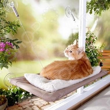 Лежанка подвесная для кошек Bradex «Теплое местечко»