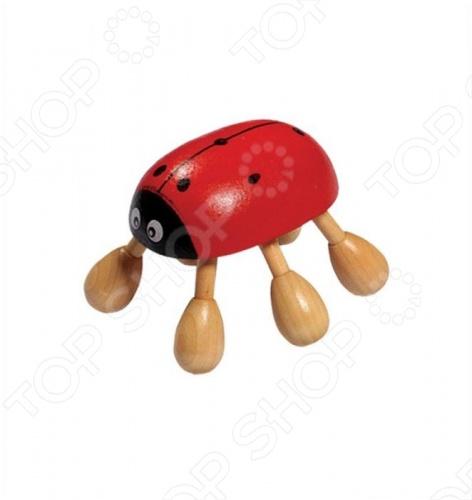 Массажер деревянный Банные штучки «Божья Коровка»