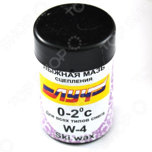 Мазь лыжная синтетическая Луч W-4