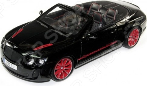 Модель автомобиля 1:18 Bburago Bentley Continental Supersport Convertible