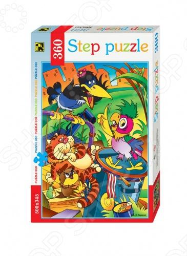 Пазл 360 элементов Step Puzzle Попугай Кеша 27593