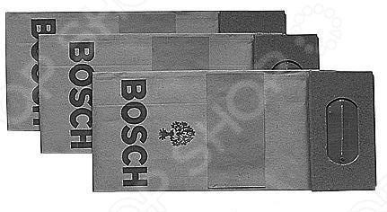 Мешки для пыли Bosch для PEX/PBS/GUF, 3 шт. виброшлифмашина bosch gss 280 ave professional 0 601 292 901
