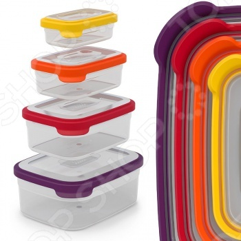 Набор контейнеров для хранения продуктов Joseph Joseph Nest 4 joseph joseph контейнеры для хранения продуктов nest™3