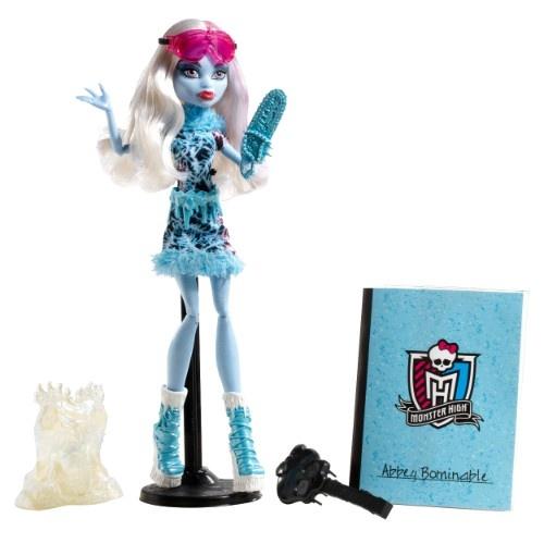 Кукла Monster High Mattel «Творческие монстры» Эбби БоминейблКуклы<br>Кукла Monster High Mattel Творческие монстры Эбби Боминейбл - станет превосходным подарком для поклонницы популярного сериала Школа монстров . Кукла одета в оригинальный яркий наряд, а ее необычные переливающиеся разными цветами волосы уложены в стильную прическу. В комплект входят интересные и оригинальные аксессуары. Игра с куклой способствует развитию фантазии, воображения и абстрактного мышления, отлично подходит для сюжетно-ролевых игр. Кукла изготовлена из высококачественных и безопасных материалов. У куколки подвижные ручки и ножки, поэтому она может принимать естественные позы. Высота куклы: 27 см.<br>