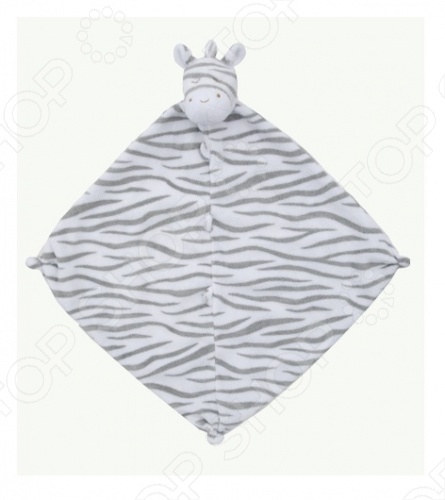 Angel Dear, создает классическую одежду для новорожденных и детей младшего возраста от 0 до 4 лет . При создании учитываются самые современные тенденции в мире моды, и особое внимание уделяется деталям. Каждая коллекция имеет свой неповторимый стиль, который дополняется различными милыми аксессуарами, чтобы сохранить ощущения столь сладостного периода детства. Комфорт ребенка - основополагающий принцип в создании коллекций каждого сезона. Линии одежды Angel Dear вы можете увидеть в лучших бутиках и магазинах по всей территории США. Покрывальце-игрушка Angel Dear Зебра. Очаровательная покрывальце-игрушка Зебра из супер мягкого кашемирового полиэстера декорированная мордочкой животного. Чудесная развивающая игрушка для самых маленьких. Состав: 100 кашемировый полиэстер. Размер: 33х33 см.