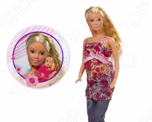 Фото - Кукла штеффи Simba с аксессуарами 5734000 кукла штеффи беременная королевский набор 29 см