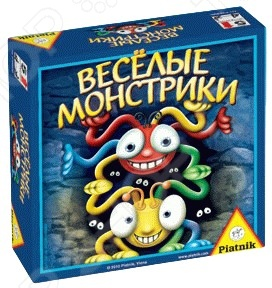 Игра настольная Piatnik «Веселые монстрики настольная игра простые правила времена года на русском