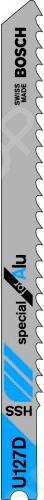 Набор пилок для лобзика Bosch U 127 D HSS пилка для лобзика bosch 2609256746 2609256746