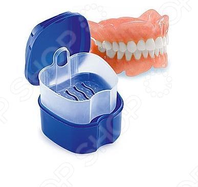 Контейнер для съемных протезов Bradex «Мои зубки» Контейнер для съемных протезов Bradex «Мои зубки» /