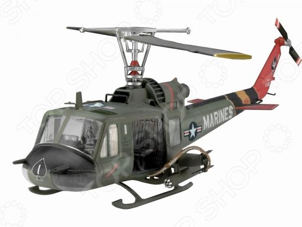 Сборная модель вертолета Revell Bell UH-1C/B Huey Hog насос погружной фекальный джилекс фекальный 140 6