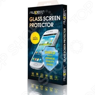 Стекло защитное Auzer AG-SSG 4 для Samsung Galaxy S4 ремень с карманом под телефон на руку oem iphone 6 g 4 7 samsung s3 s4 for
