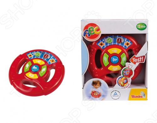Руль игрушечный Simba 4019636 simba игрушка пластм первый фотоаппарат simba