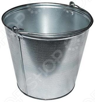 Ведро оцинкованное для питьевой воды объемом 9 л. Изготавливаются из проката тонколистового горячеоцинкованного, предназначены для хранения и переноски холодной воды.