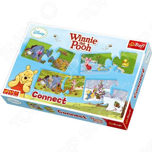 Игра-составь ряд Trefl «Винни Пух» elc путешествие по миру развивающая