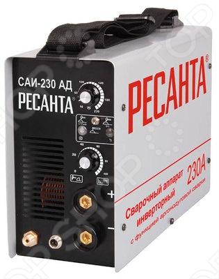 цена на Аппарат сварочный инверторный аргонодуговой Ресанта САИ-230-АД