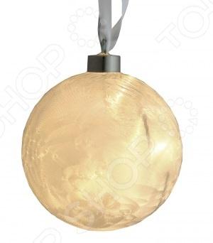 Гирлянда-шар Star Trading Ice crystalГирлянды<br>Гирлянда-шар Star Trading Ice crystal поможет создать праздничное новогоднее настроение и принесет радость всем окружающим. Этой гирляндой в форме шара можно украсить комнату в квартире или праздничный зал. Яркий светящийся шар поможет по-настоящему ощутить праздничное новогоднее настроение детям и взрослым. Благодаря длинному проводу 3,5 метра вы сможете расположить гирлянду в удобной для вас части даже большого помещения. Стеклянная гирлянда-шар матового цвета с восемью LED лампочками работает от электричества.<br>