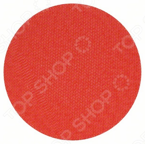 Круг тарельчатый на липучке Bosch 2608601076 тарелка опорная bosch 2608601076