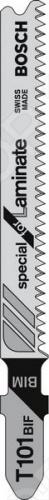 Набор пилок для лобзика Bosch T 101 ВIF BIM пилки для лобзика по металлу для прямых пропилов bosch t118a 1 3 мм 5 шт