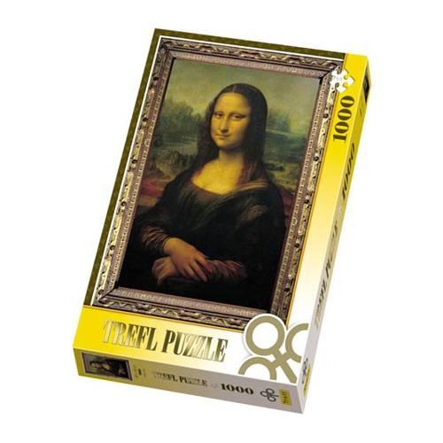 Пазл 1000 элементов Trefl «Мона Лиза»