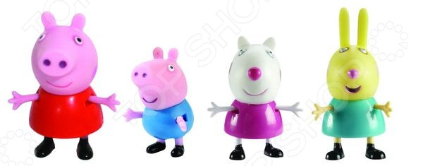 Peppa Pig «Любимый персонаж» игровой набор любимый персонаж peppa pig 4 фигурки в ассортименте свинка пеппа