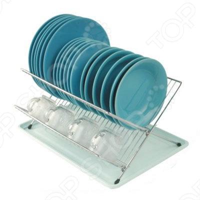 Сушилка для посуды Bohmann BH-7301 24880 сушилка для посуды 2 уровня мет плас мв х6
