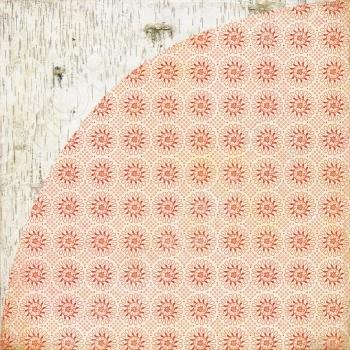 фото Бумага для скрапбукинга двусторонняя Basic Grey Open Sleigh, купить, цена