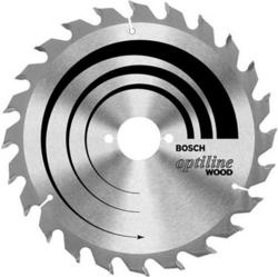 Диск отрезной для ручных циркулярных пил Bosch Optiline Wood 2608640615 диск отрезной для торцовочных пил bosch optiline wood 2608640432