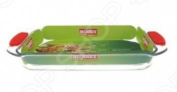 Форма для запекания с силиконовыми ручками Mijotex PS
