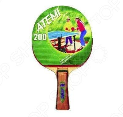 Ракетка для настольного тенниса Atemi 200 AN ракетка для настольного тенниса torneo tour plustable tennis bat ti b3000