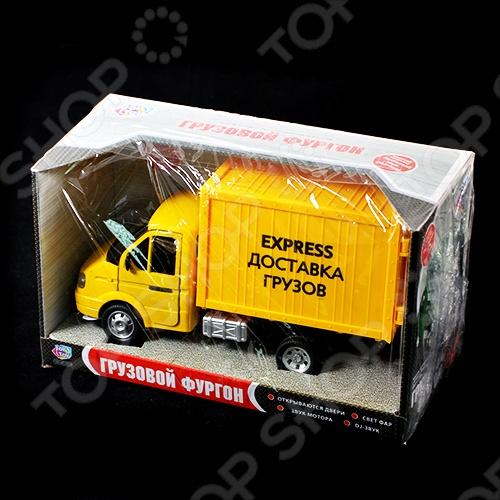 Машина инерционная Joy Toy «Газель фургон Доставка» Р40518 гтц на газель бизнес
