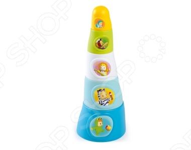 Игрушка-пирамидка Smoby 211322 smoby smoby cotoons пирамидка 22 5 15 10 см голубая