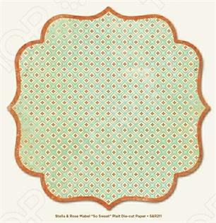 фото Бумага для скрапбукинга двусторонняя Morn Sun Plait, купить, цена